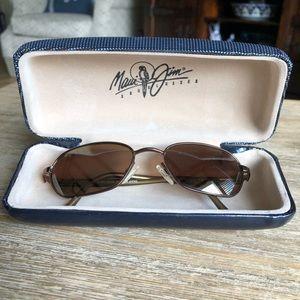 Maui Jim Hilo 133 sunglasses in brown